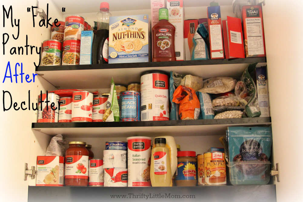 Fake Pantry After