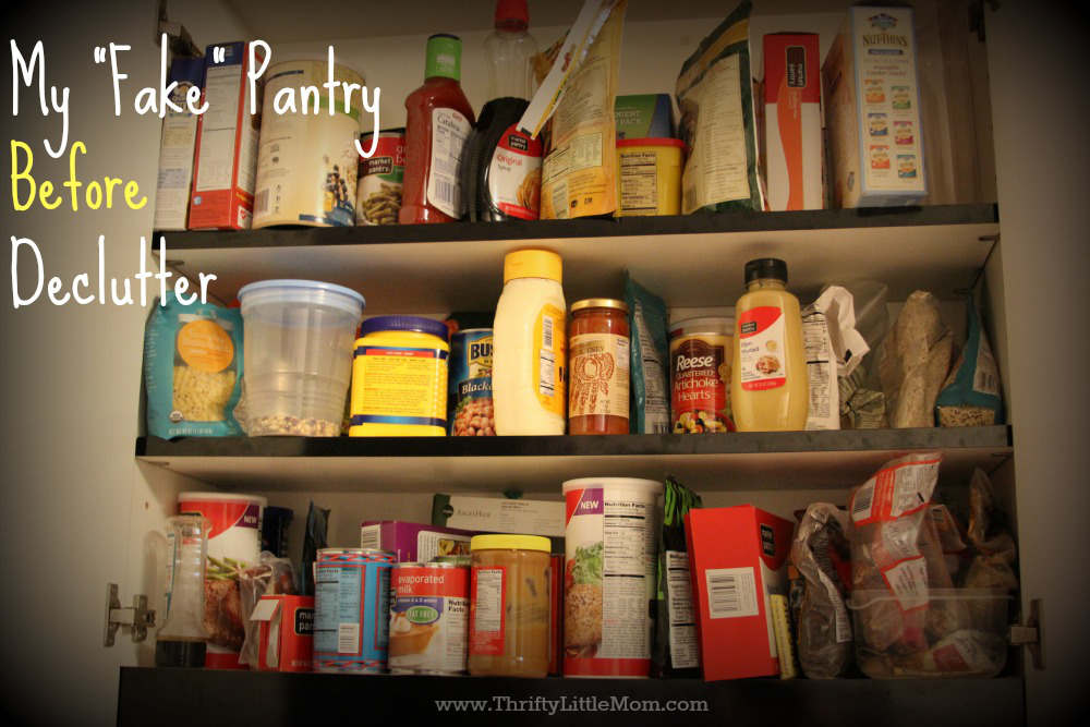 Fake Pantry Before