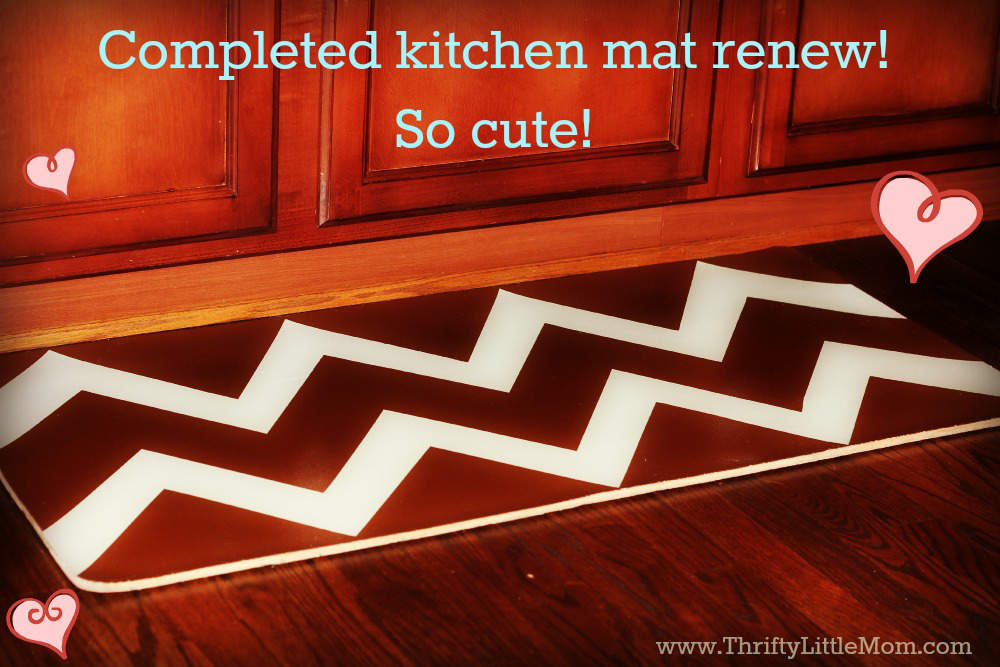 Finished kitchen mat renew