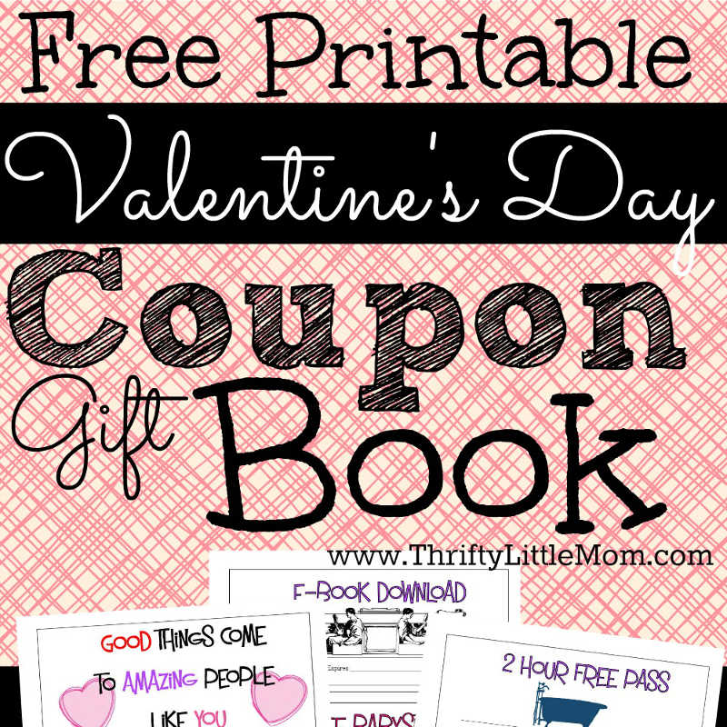 Printable Coupons for Your Valentine!