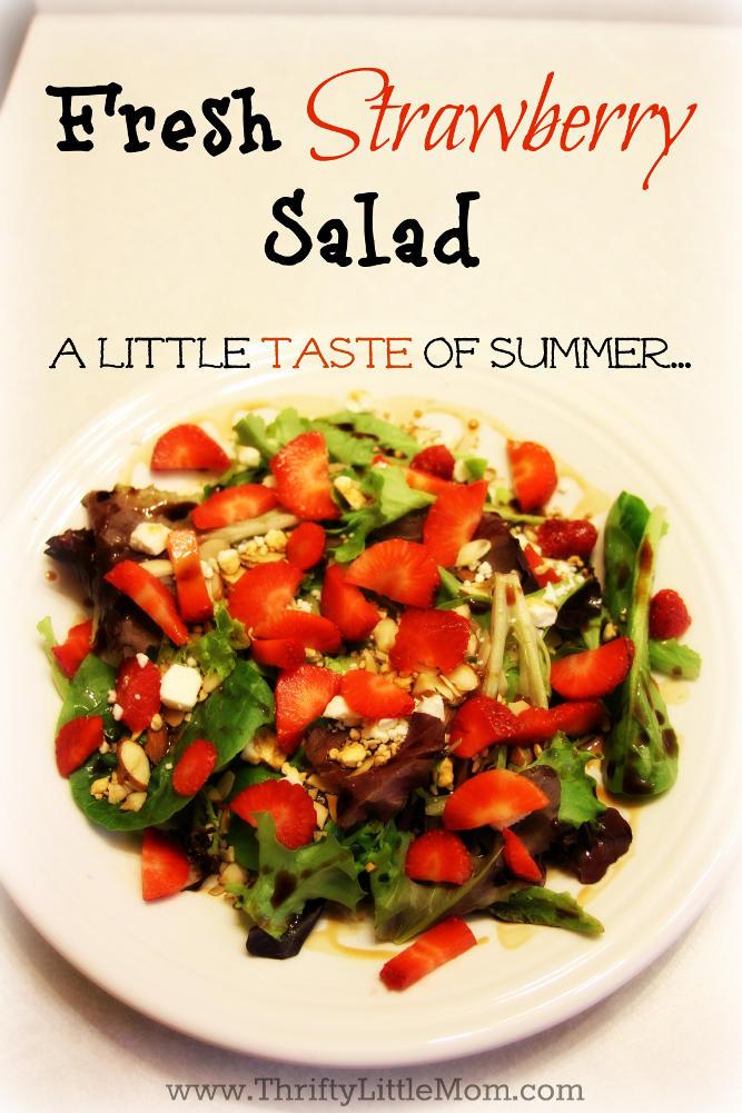 Fresh Strawberry Salad