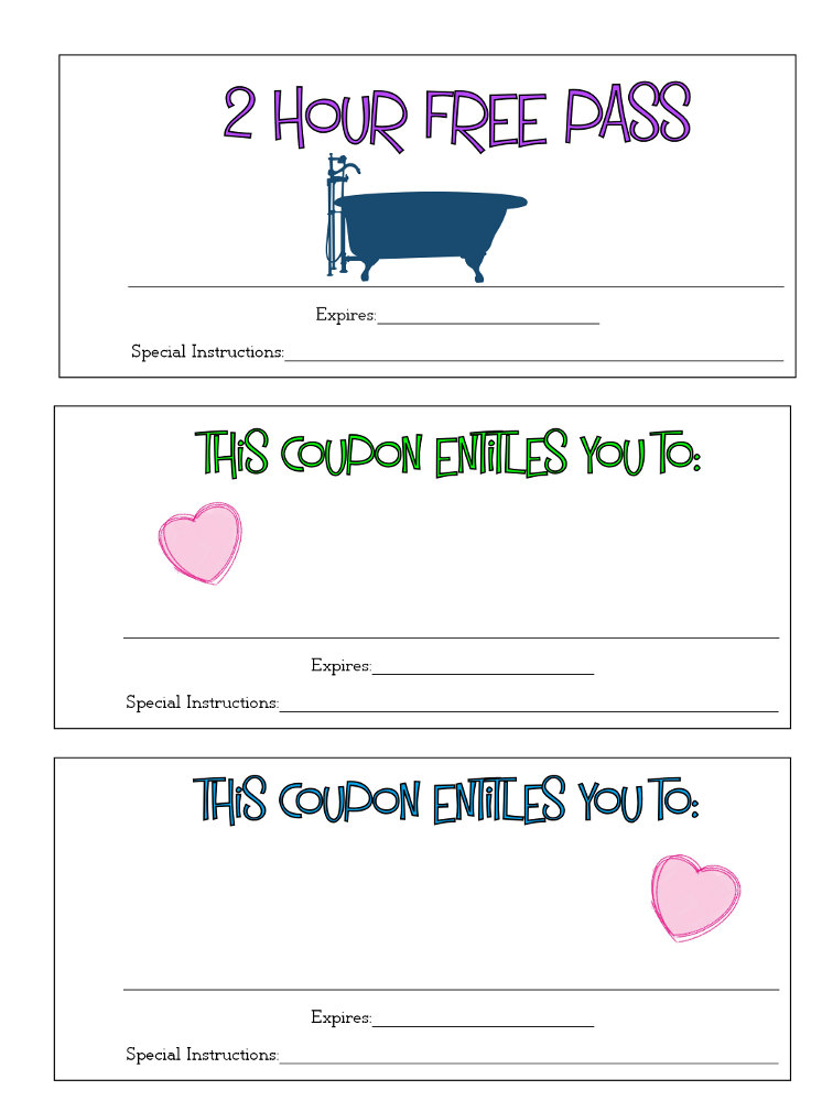 Valentine's Coupon Page 4