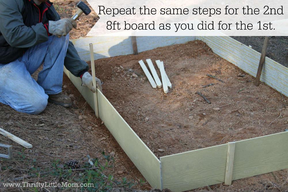 2nd 8ft Board Raised Garden Bed