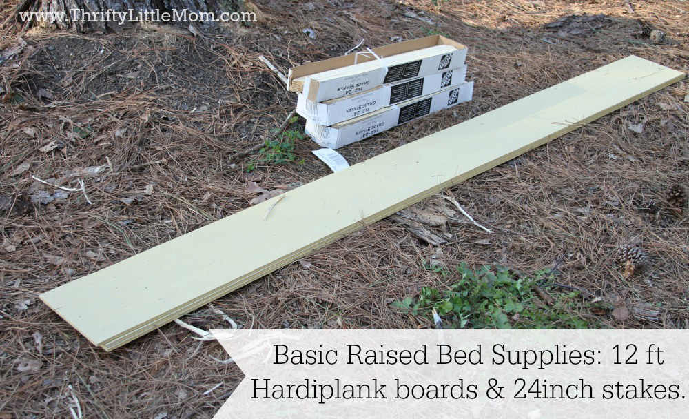 Easy Raised Garden Bed Instructions Thrifty Little Mom