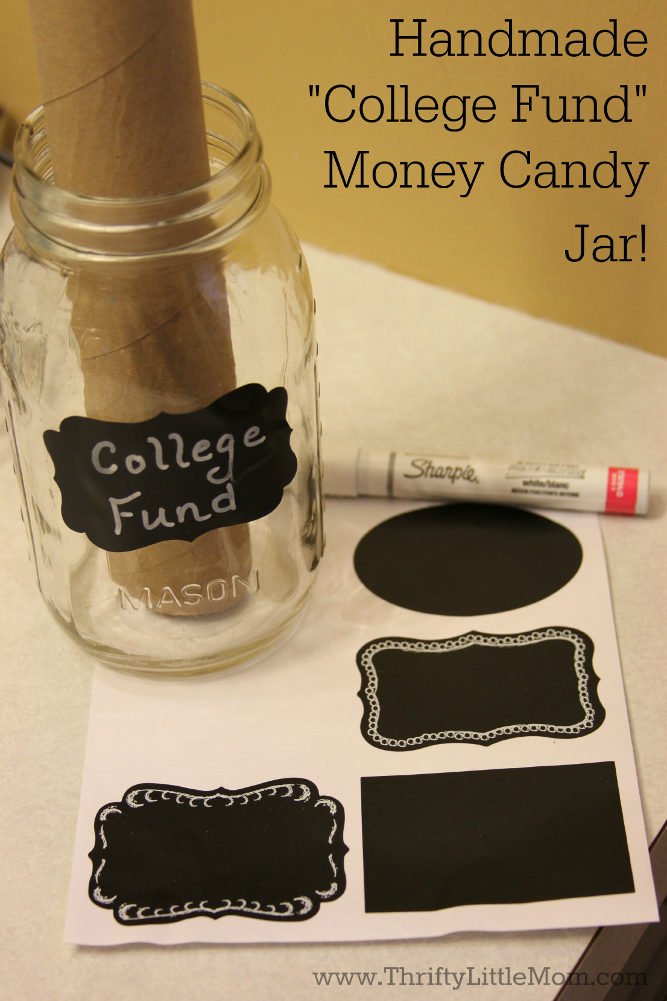 Candy Jar College Gift