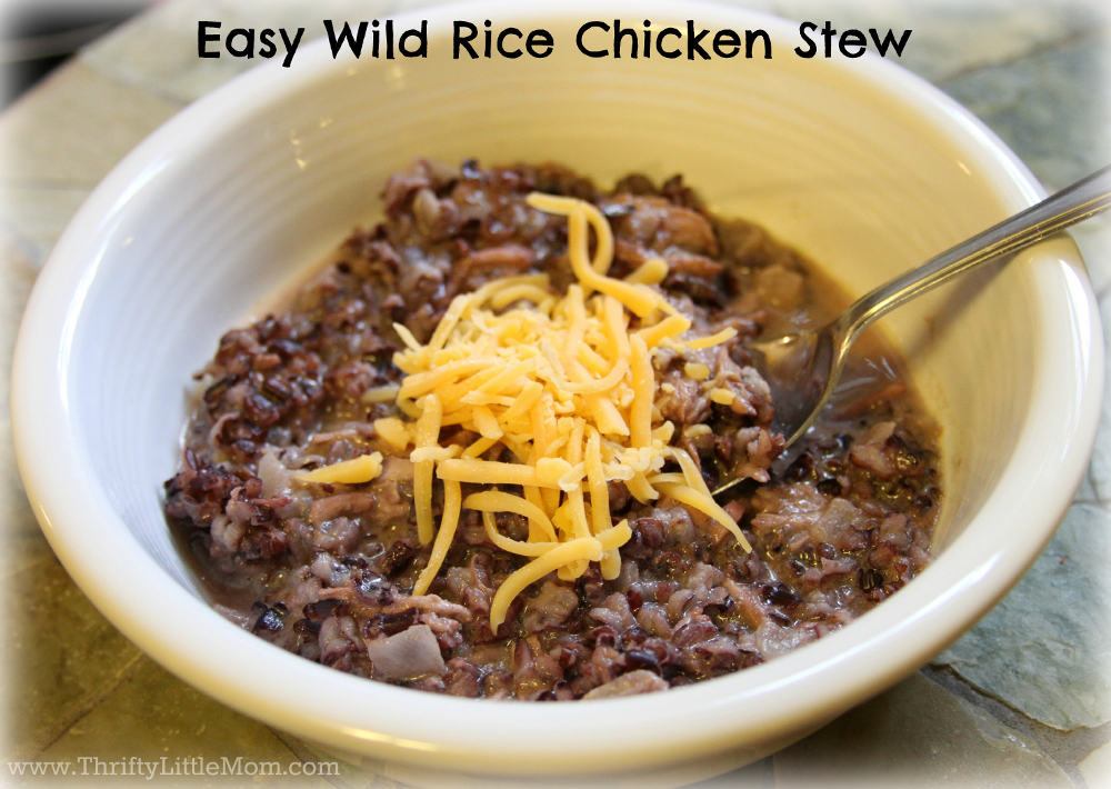 Easy Wild Rice Chicken Stew