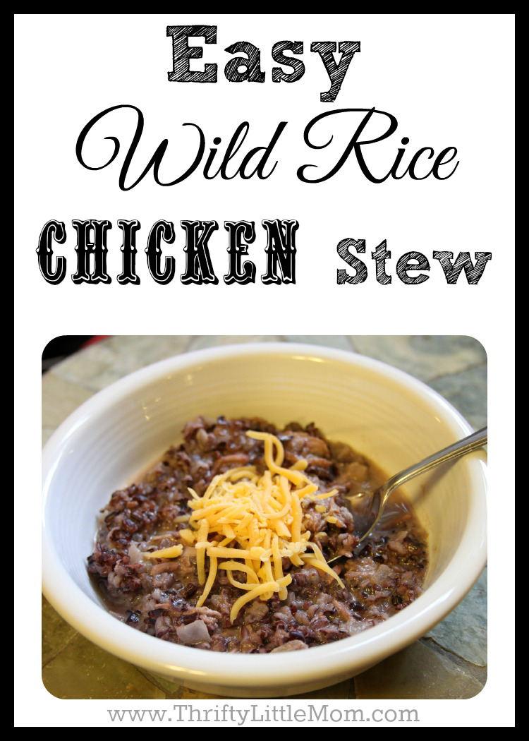 Easy Wild Rice Chicken Stew Pic