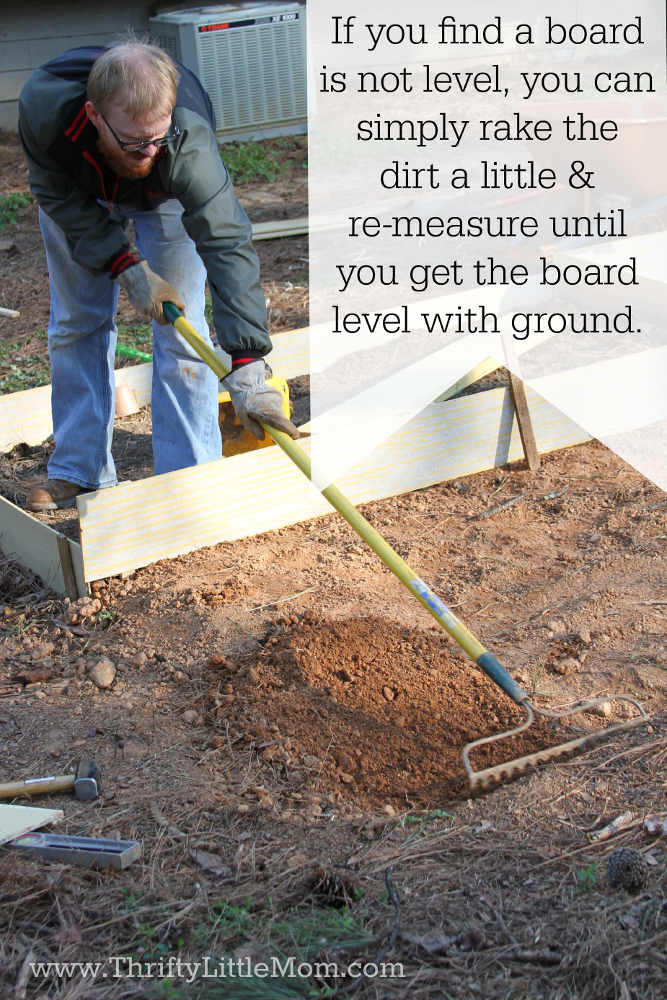 Measure for Raised Garden Beds