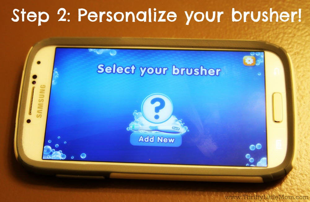 Oral B Select Brusher