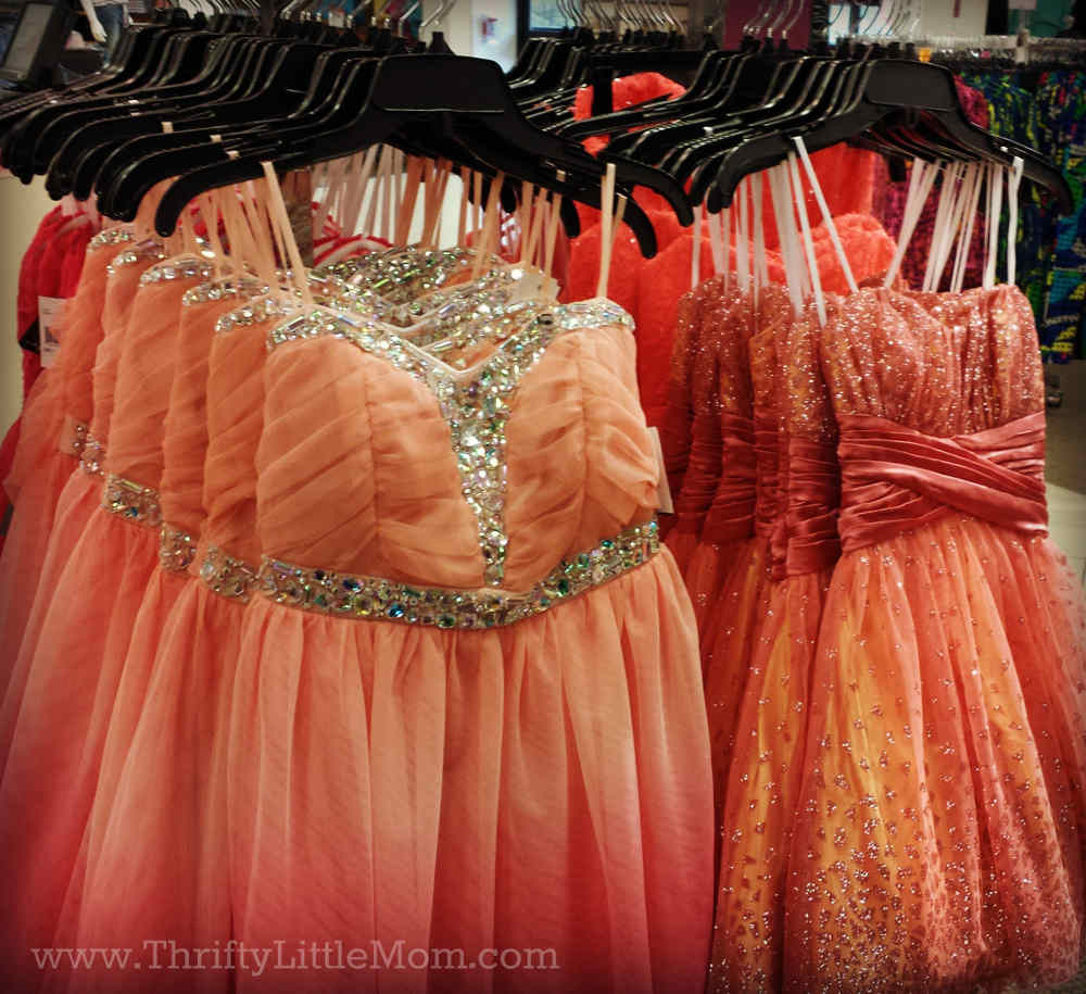 Prom on a Budget » Thrifty Little Mom