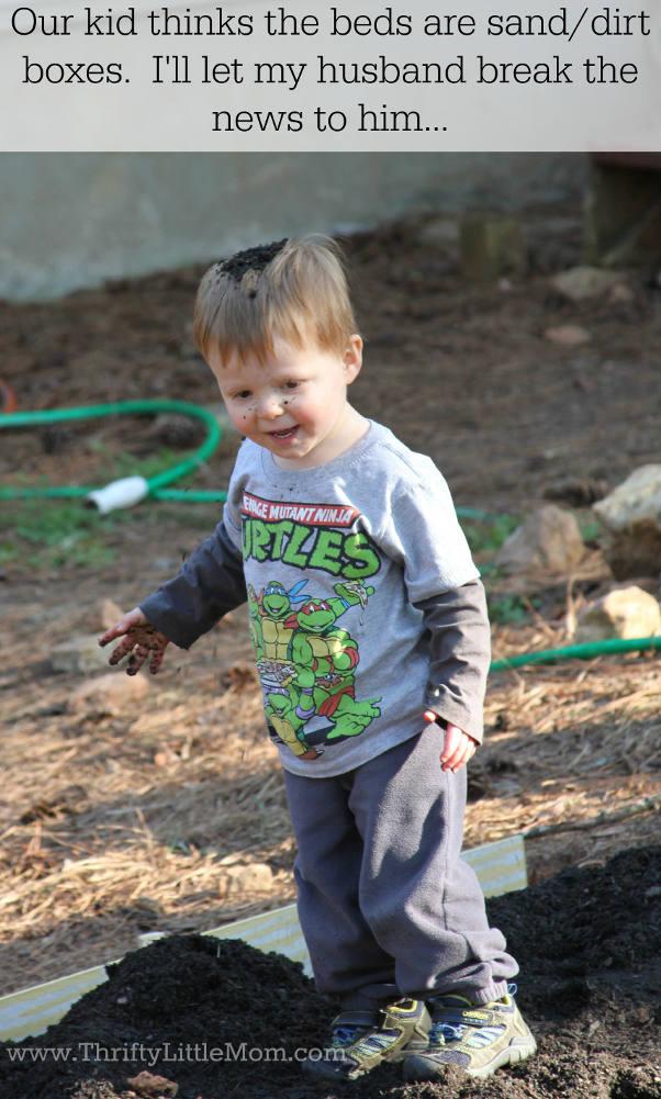 Raised Garden Bed Dirt Box