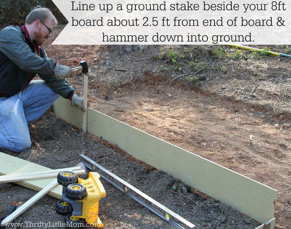 Raised Garden Bed Stakes
