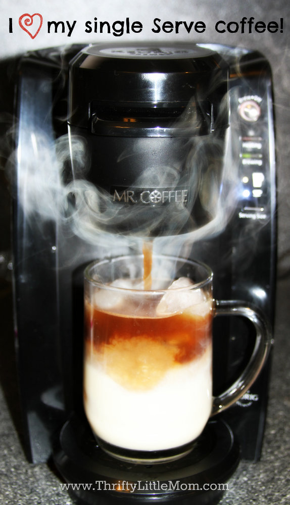 Single Serve Coffee Heart