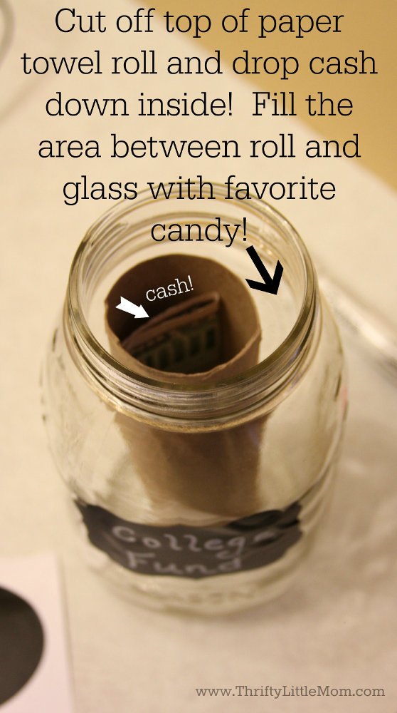 6 thrifty gift ideas for grads thrifty little mom for Cool money jars