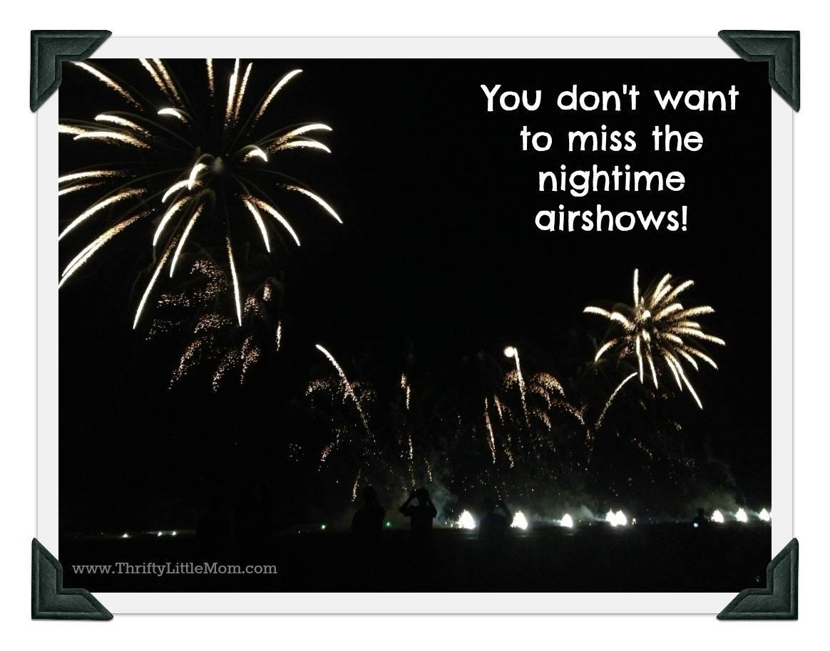 fireworks night airshow
