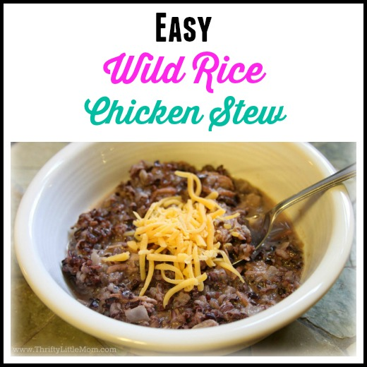 Easy Wild Rice Chicken Stew