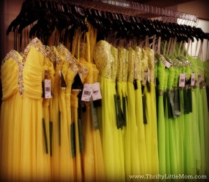 yellow green dress spread