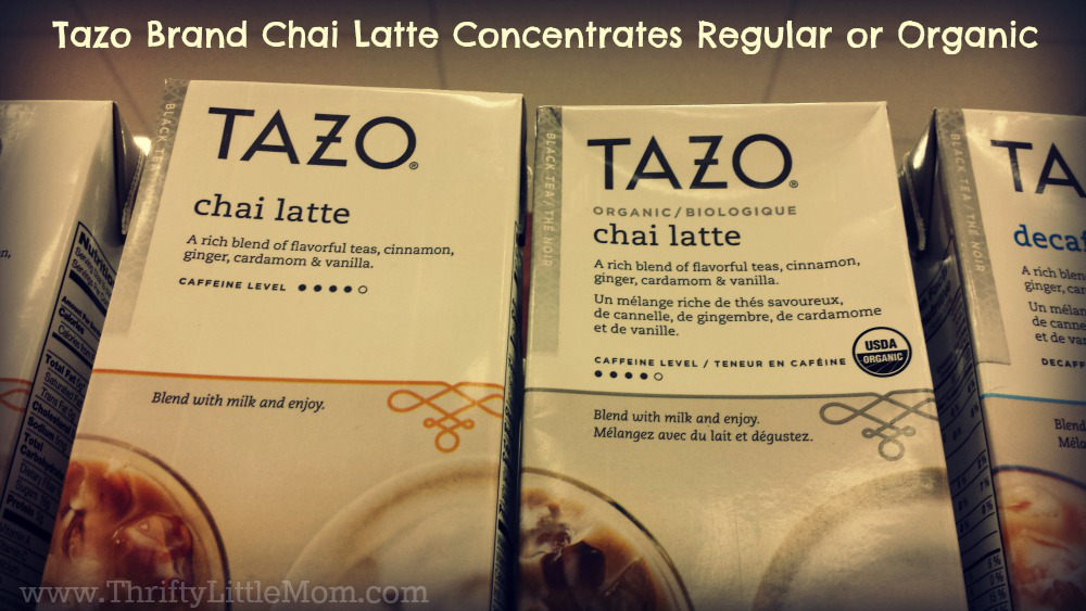 Chai Tea Concentrates Regular Organic