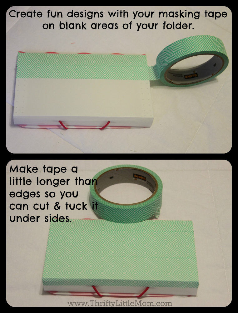 Create Fun Designs with Masking Tape