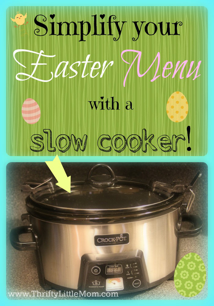 Easter Menu Slow Cooker