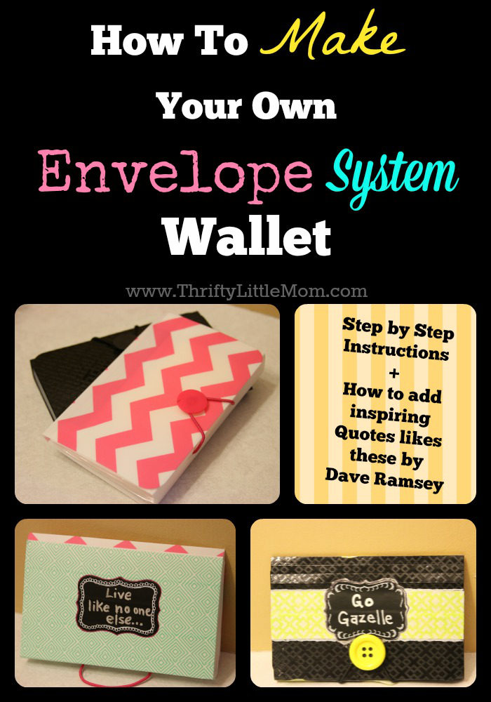 photograph about Dave Ramsey Envelope System Printable identify How Towards Deliver Your Personalized Envelope Process Wallet » Thrifty Tiny Mother