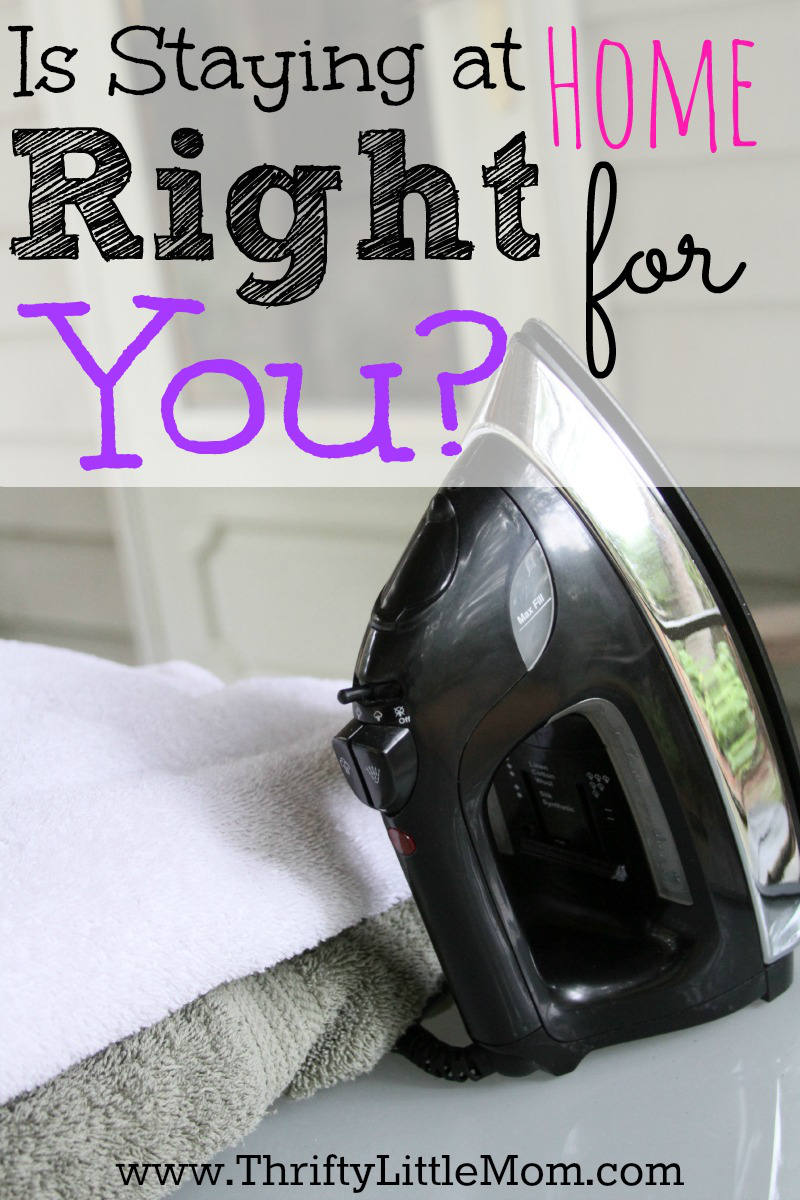 is staying at home right for you 187 thrifty