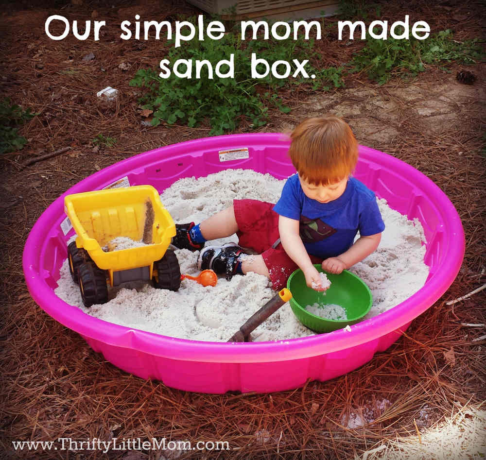 Mom Made Sand Box