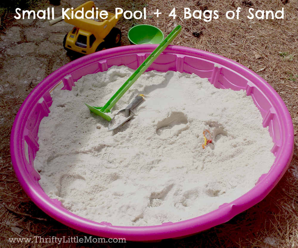 Small Kiddie Pool Sandbox