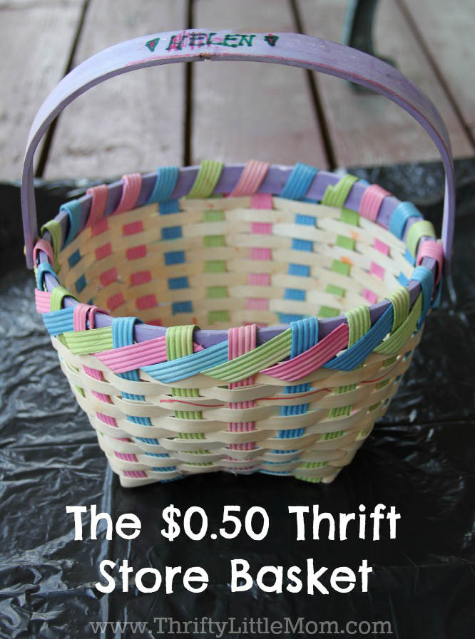 The Thrift Store Basket