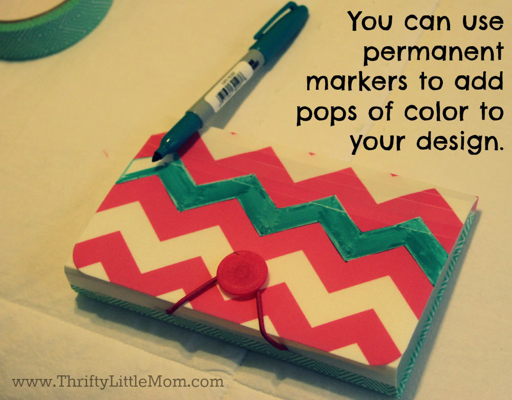 Use Permanent Markers to Add Pops of Color