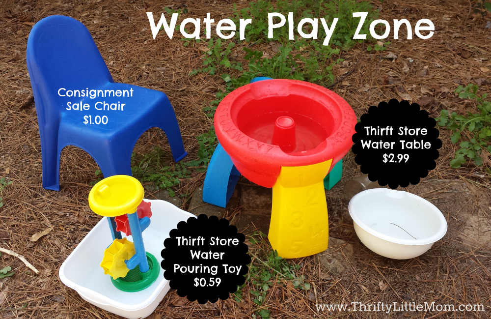 Water Play Zone