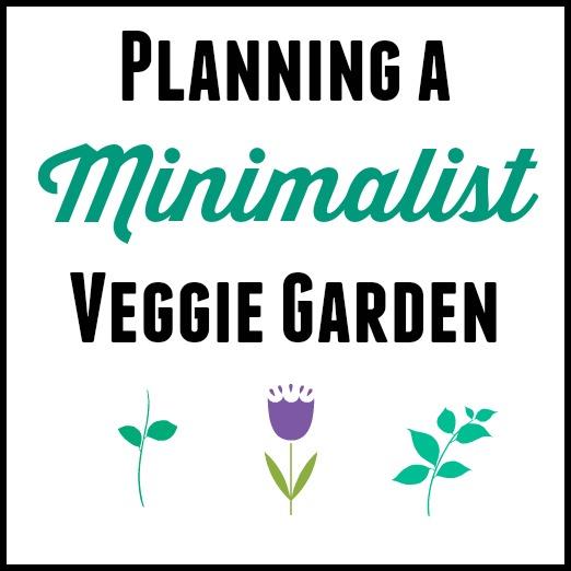 Planning a Minimalist Vegetable Garden