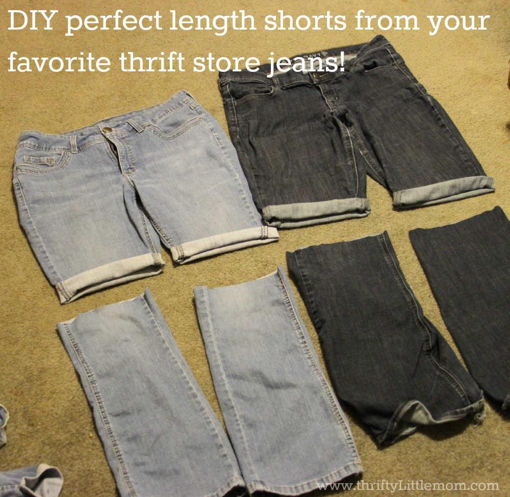 DIY Perfect Length Shorts