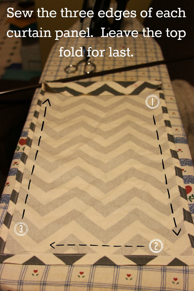 Easy Sew Kitchen Craft Curtains Sew Sides