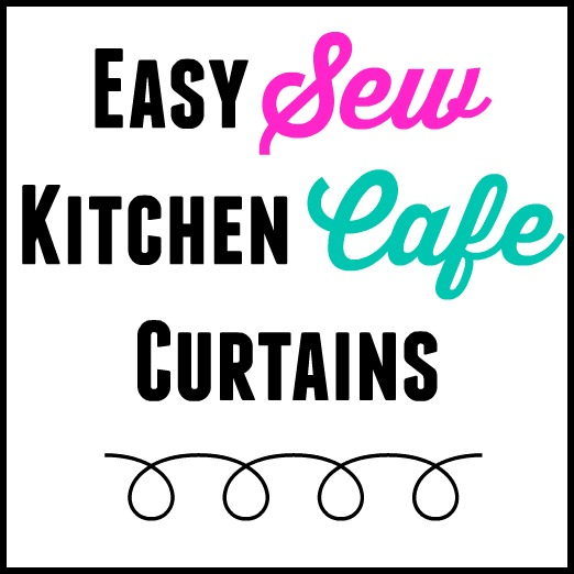 Easy Sew Kitchen Cafe Curtains