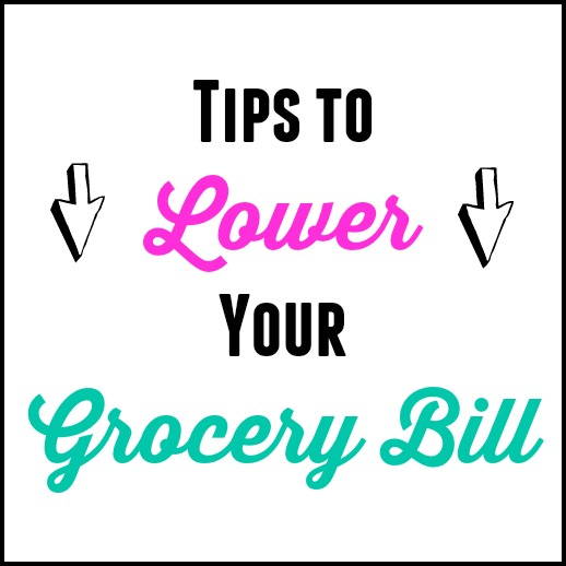 Tips to Lower Your Grocery Bill