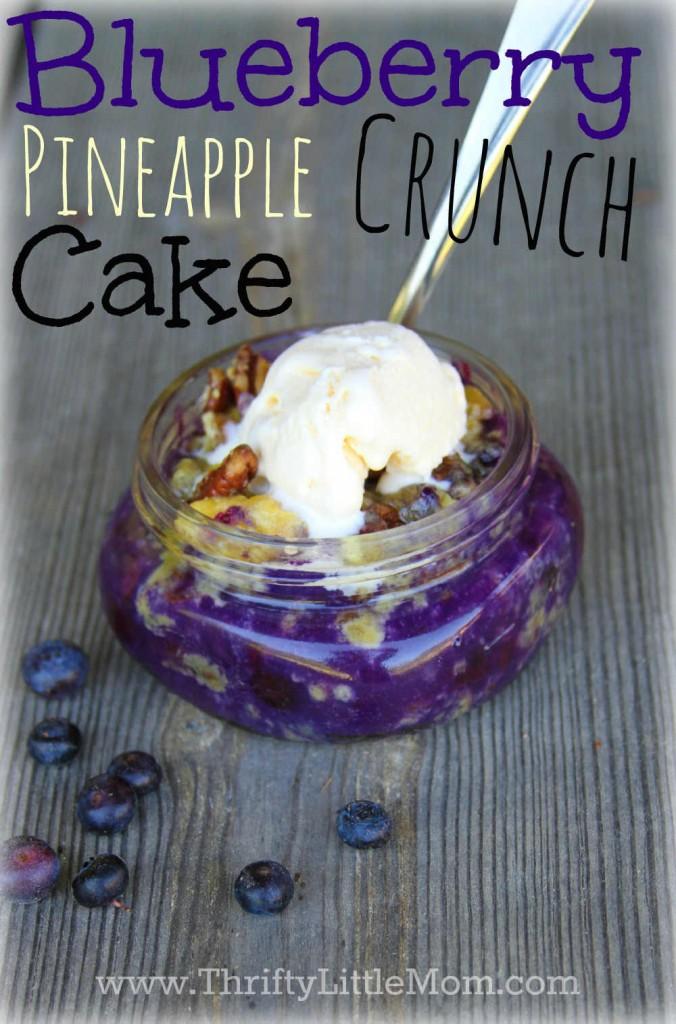 Blueberry Pineapple Crunch Cake Pin