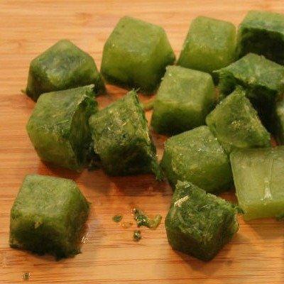 Frozen Herb Cooking Cubes