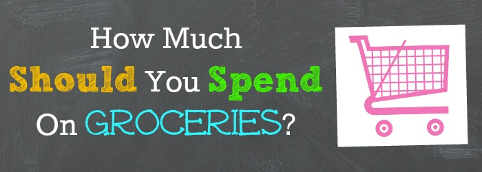 How much should you spend on groceries 1