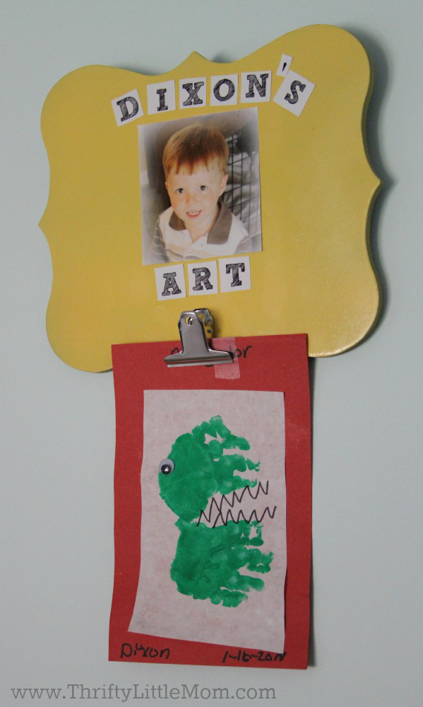 Make Kids Art Wallhanger 5