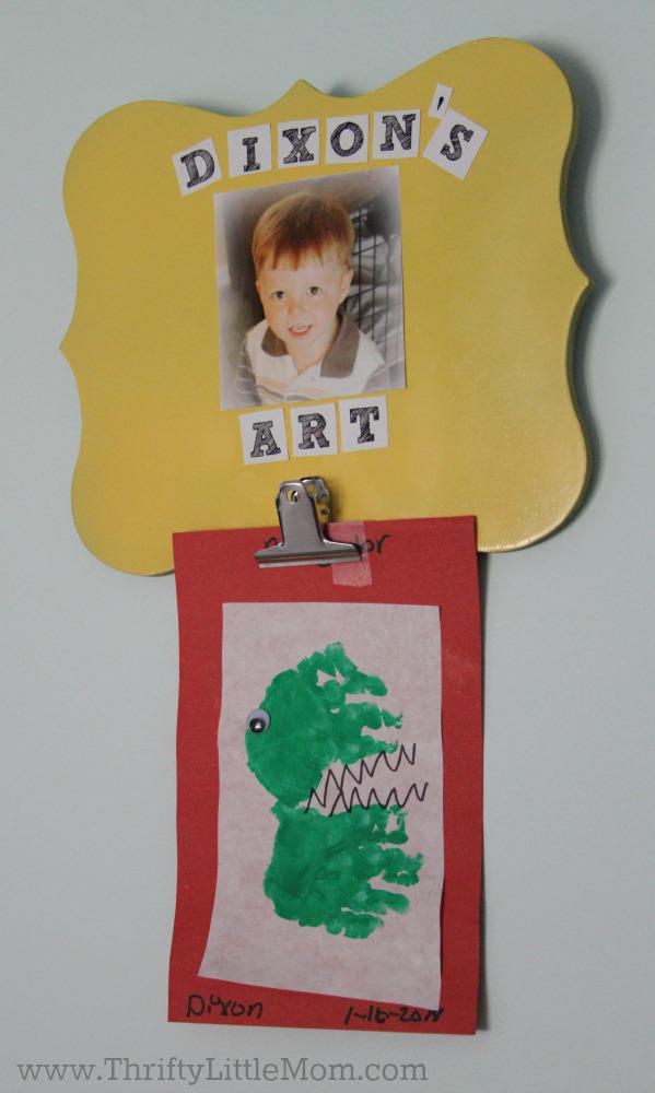 Make Kids Art Wallhanger 5