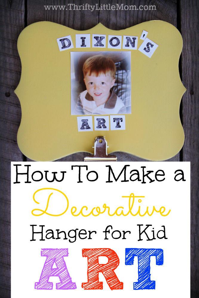 Make Kids Art Wallhanger 6