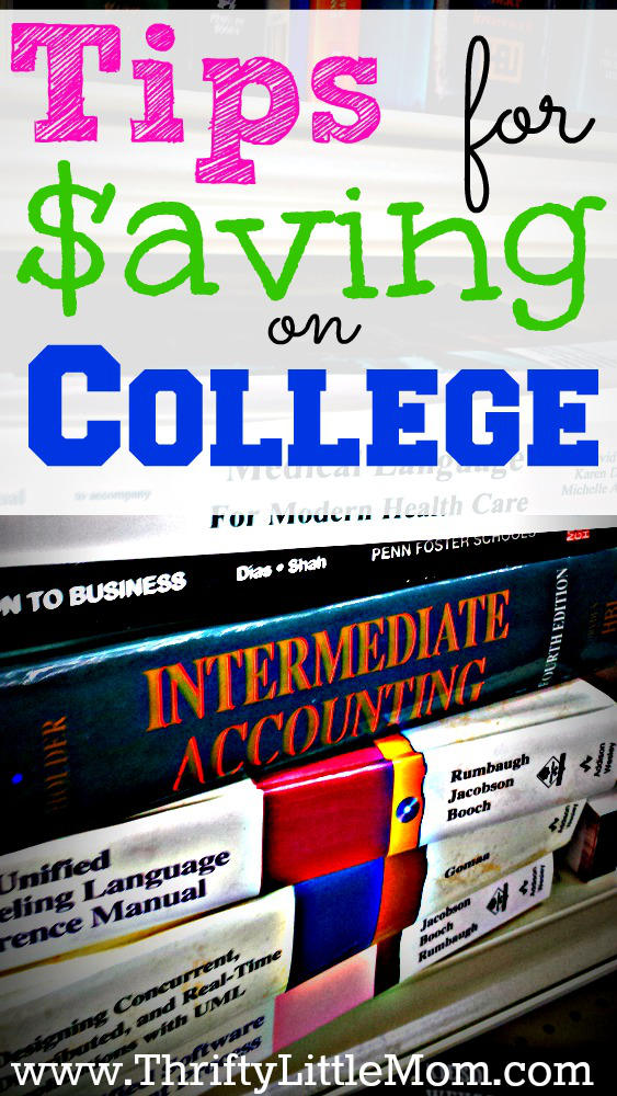 Tips for Saving On College