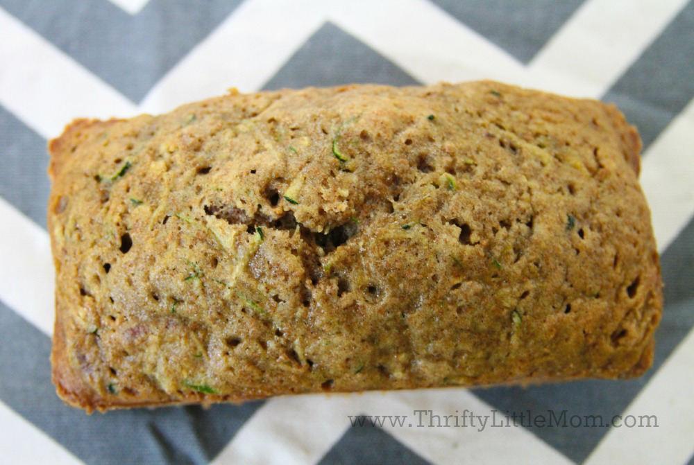Zuchinini Bread Top