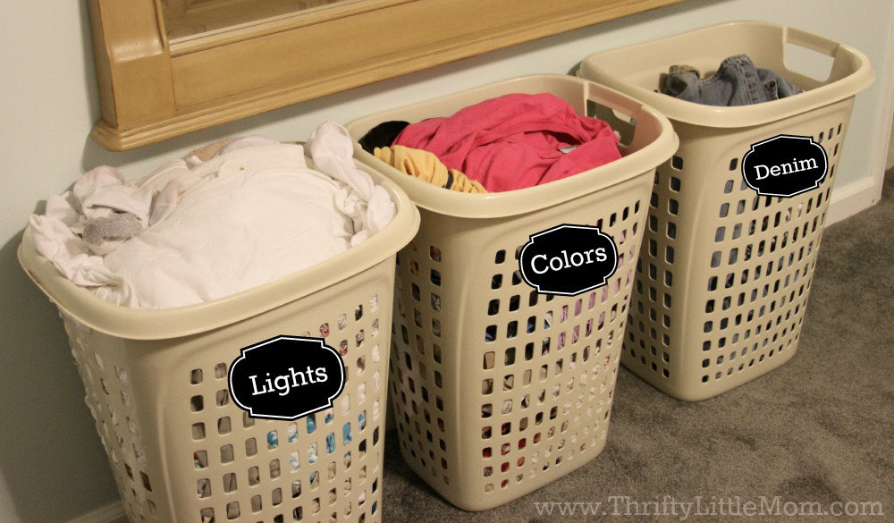 5 ways to speed up laundry day thrifty little mom - Protect clothes colors washing ...