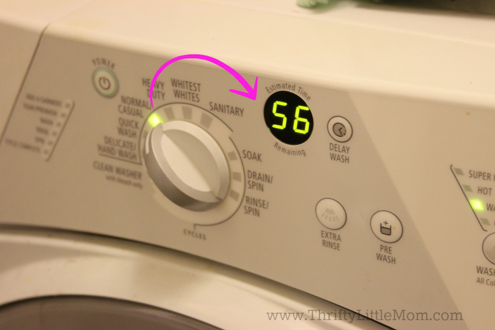 Making laundry day suck less with quick wash