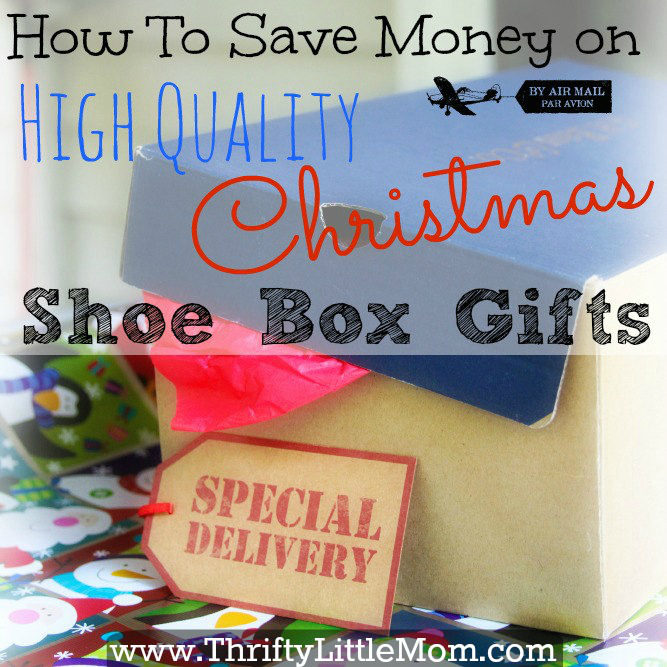 Save money on high quality shoe box gifts