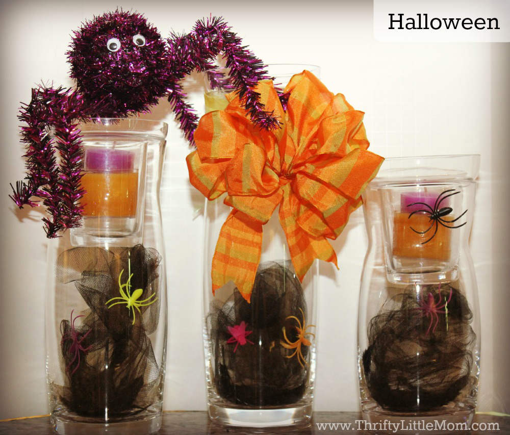 Halloween Simple Mantel Display