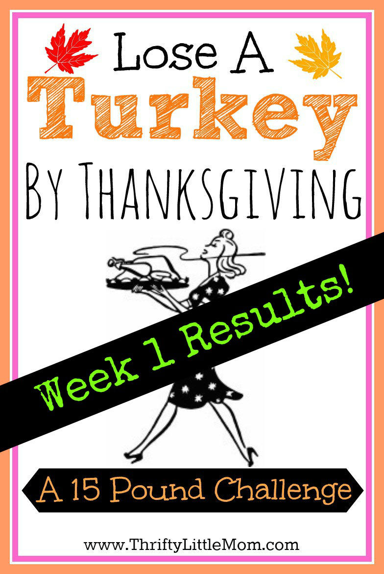 Week 1 Weigh-In: Loose A Turkey Challenge