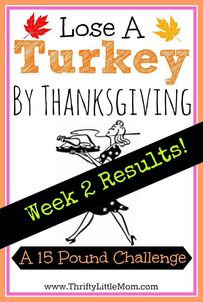 Loose a Turkey By Thanksgiving Week 2 Results